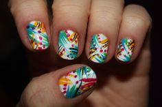 Wild. These are quite possibly the best nails I've ever seen