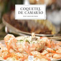 Do brunch ao jantar: coquetel de camarão. Combinação perfeita de texturas e sabores!! Coquetel de Camarão (Foto: Karen Hostetter/ Divulgação)