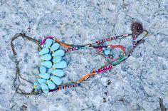 Teardrop Bead Necklace