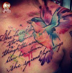 10 Amazing Watercolor Tattoos