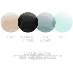 tinted neutrals fresh hues color inspiration ❤ liked on Polyvore featuring fillers, backgrounds, circles, collage and effects