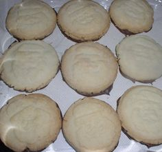 Ma's Apron Strings: Shortbread Cookies