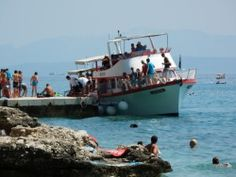 Baška Voda, loď Marin, kapitán Joško #Baška Voda #Makarskariviera #Chorvatsko #Hrvatska #Croatia #Jadran #JiříHrdý