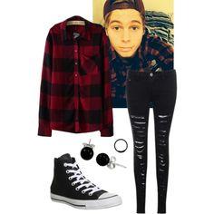 Luke Hemmings inspired outfit