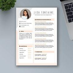 CV Design et Original à Télécharger - CV Word Premium Portfolio Web, Portfolio Resume, Portfolio Design, Cv Words, Resume Words, Creative Cv Template, Resume Design Template, Graphic Design Cv, Web Design