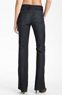 The Jean. <3 Dark Wash! ~ 7 For All Mankind® Bootcut Jeans (Blue Canyon) available at #Nordstrom