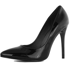 DailyShoes Women's Classic Fashion Stiletto Pointed Toe Pairs-01 High Heel Dress Pump Shoes, Black PT, 7.5 B(M) US...  Formal occasions call for formal dress. Whether you are headed out to cocktails with your co-workers, to an important meeting, out for dinner on the weekend or any other occasion that requires a nice outfit, you need the right sort of shoes to go with it. When you choose sleek pumps to go with......http://bit.ly/2sT8xvj