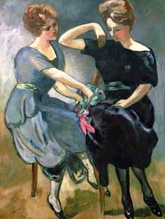 The Two Sisters - Louis Valtat