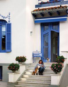 Depósito Santa Mariah: Casa Em Azul!