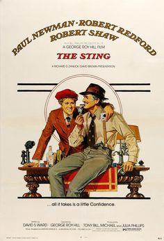 The Sting (1973) Original One-Sheet Movie Poster