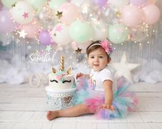 Let's Get Smashed by K Artocin Photography-South Jersey Photographer Birthday Girl Pictures, Baby Girl 1st Birthday, Smash Cake Girl, Birthday Cake Smash, 1st Birthday Girl Decorations, 1st Birthday Photoshoot, Creations, Baby Girl Christmas, Professional Photographer