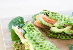 vaffel-sund-laks-avocado Jamie Oliver Recipes Christmas, Healthy Drinks, Healthy Snacks, Sandwiches, Vegetarian Recipes, Healthy Recipes, Good Food, Yummy Food, Recipes From Heaven