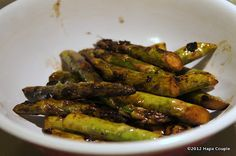 A Hapa Couple's Dukan Recipes: Dukan Grilled Balsamic Asparagus Dukan Diet Recipes, Paleo Recipes, Green Beans, Delish, Side Dishes, Healthy Eating, Favorite Recipes, Dinner, Vegetables