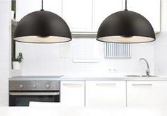 MAX-LIGHT Dome Lampa wisząca mała SQ-360MP black