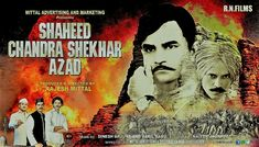 First poster of movie shaheed Chandrasekhar azaad