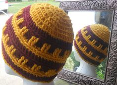 Men's Beanie Hat  Colorful Comfy Beanie Hat  Will Make by HahnMade, $13.00