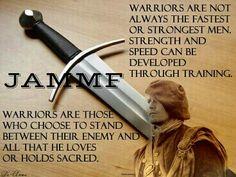 Warriors (& women can be warriors too)