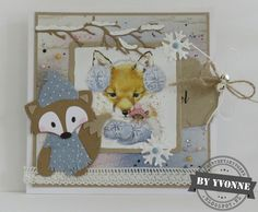 Marianne Design, Marianne Vos, Projects To Try, Teddy Bear, Christmas, Home Decor, Stamps, Scrapbooking, Cards