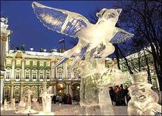 hermitage museum ice sculpture pictures