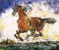 The Whistle of a Jacket.painting by John (Jack) Butler Yeats, sold at auction at Christie's London in 2001 for millions pounds Irish Images, Jack B, Irish Art, Irish Celtic, Irish Traditions, Horse Art, Famous Artists, Art Museum, Modern Art