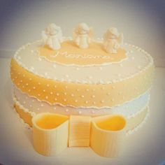 Bolo Batizado / cake www.deliciasdajaciara.com