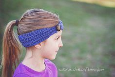 PDF Pattern - Ribbed Headband (5 Individual Size Patterns Included: 12m - Adult)