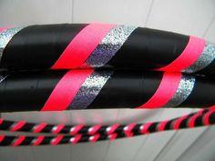 Hot pink, Black & Silve