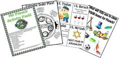 Free Pesach Activity Pack from Our Jewish Homeschool Blog