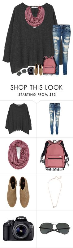 """""""day 5; touring Greece"""" by abbypj ❤ liked on Polyvore featuring MANGO, Vero Moda, Steve Madden, Victoria's Secret, Kendra Scott, Eos, Ray-Ban and madimadsfall2k16"""