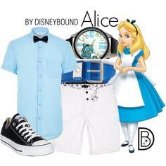 Alice in Wonderland  Alicia en el país de las Maravillas  Disney outfit men Disney fashion men