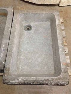 Antique Bluestone Farm Sink c.1850 - Sinks