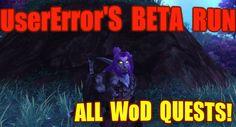 nice World of Warcraft: Warlords of Draenor  - BETA  (Alliance) - The Dark Portal: Heartblood