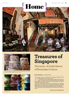 The Intan—A Little Haven of Peranakan Culture (Pg 1/2) ------ To Read: http://www.theepochtimes.com/n3/1899538-the-intan-a-little-haven-of-peranakan-culture/ ------ Visit SG Mobile Site: http://sea.epochtimes.today ------ Global Site: http://www.theepochtimes.com/