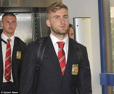 Luke Shaw  Enjoy & impress our boss in the tour mate. #MUFCTour ♥