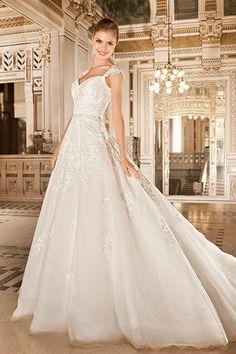 Cliquez pour zoomer - Robes de mariée Demetrios 2015 - 1485 : Référence : 1485