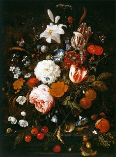 Jan_Davidsz._de_Heem_-_Still-Life_with_Flowers_in_a_Glass_Vase_and_Fruit_-_WGA11284.jpg (814×1100)