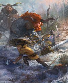 Varl Fight Illustration