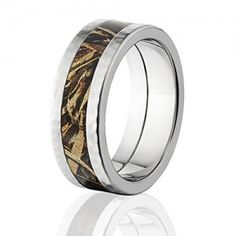 RealTree Max 5 Official 8mm Wide Camo Rings w/ Premium Camouflage