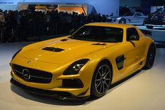 The NEW Mercedes-Benz SLS AMG Black Series proves that less is more