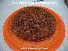 Bolo Funcional de Microondas - Delícia!