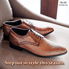 Speed up your life with our comfortable range of Louise Philippe shoes that let your feet breath.  Click here to view: - https://www.ittude.me/shop/men/footwear/lace-up-1431.html