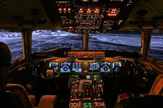 Photographs of Awesome Cockpits - my favorite of these inspirations