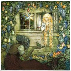 John Bauer, Swedish illustrator (1882-1918).
