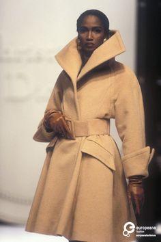 Katoucha@ Christian Dior, Autumn-Winter 1991, Couture on www.europeanafashion.eu