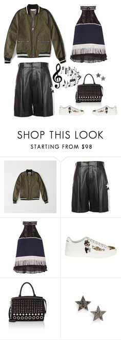 """""""Happy Birthday my Poly Pal @lacas"""" by musicfriend1 ❤ liked on Polyvore featuring Abercrombie & Fitch, Givenchy, Jonathan Simkhai, Dolce&Gabbana, Alexander Wang, Dana Rebecca Designs and edgyfashion"""