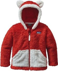 Patagonia Boy's Furry Friends Fleece Hoodie - Infant/Toddler Boys'