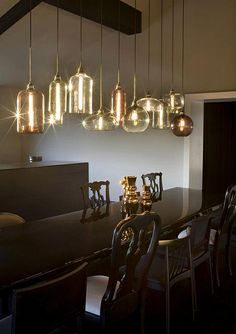 Niche Modern Hand-blown Glass Pendant Lighting at Merus Winery in Napa Valley by nichemodern, via Flickr