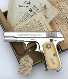 Colt Model 1908 Pocket Hammerless .380 ACP serial number 93754 Speed up and simplify the pistol loading process with the RAE Industries Magazine Loader. http://www.amazon.com/shops/raeind