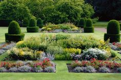 Norah Lindsay designed the gardens at Blickling in Norfolk, England, for Philip Kerr, the Marquess of Lothian. They were later restored by the National Trust.