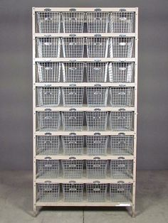 redinfred amazing metal storage shelving unit.